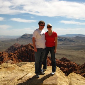 Jonathan and Amie's first trip to Vegas